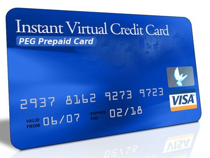 virtual credit card upstore
